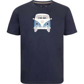 Elkline Methusalem SS T-Shirt Men, darkblue